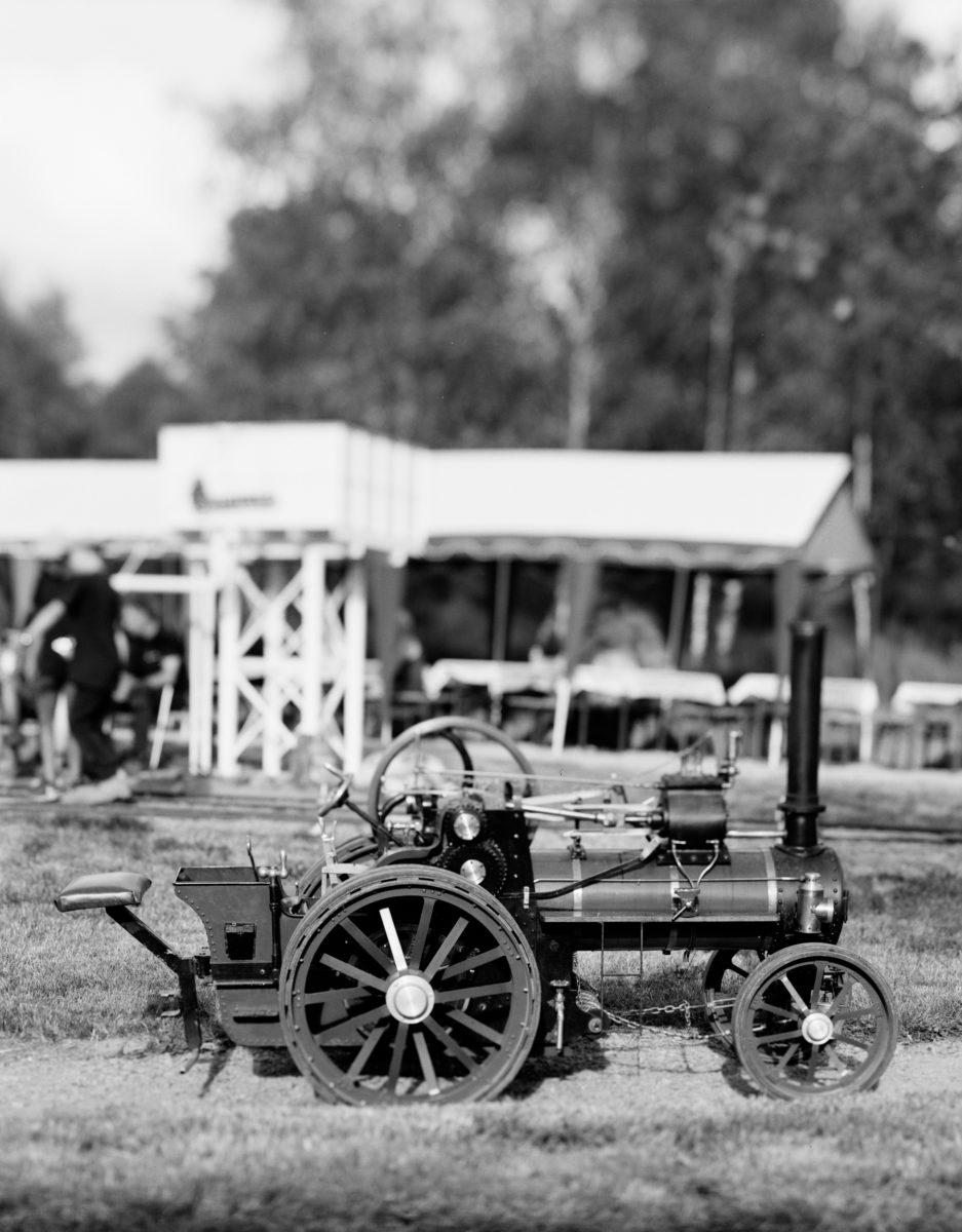 Le tracteur à vapeur de Marcel.