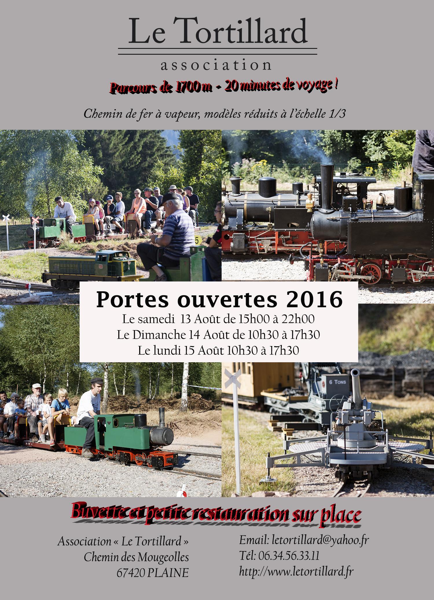 Affiche Porte Ouverte 2016