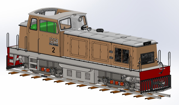 Locomotive Funkey 1