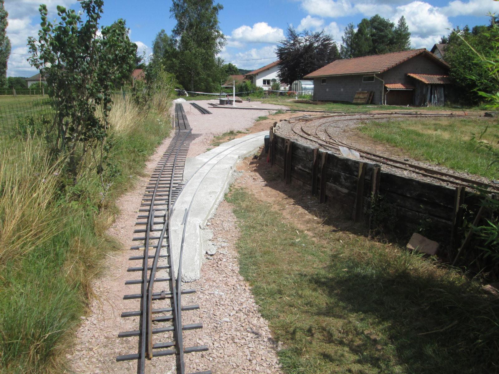 Aiguille d'entrée de gare