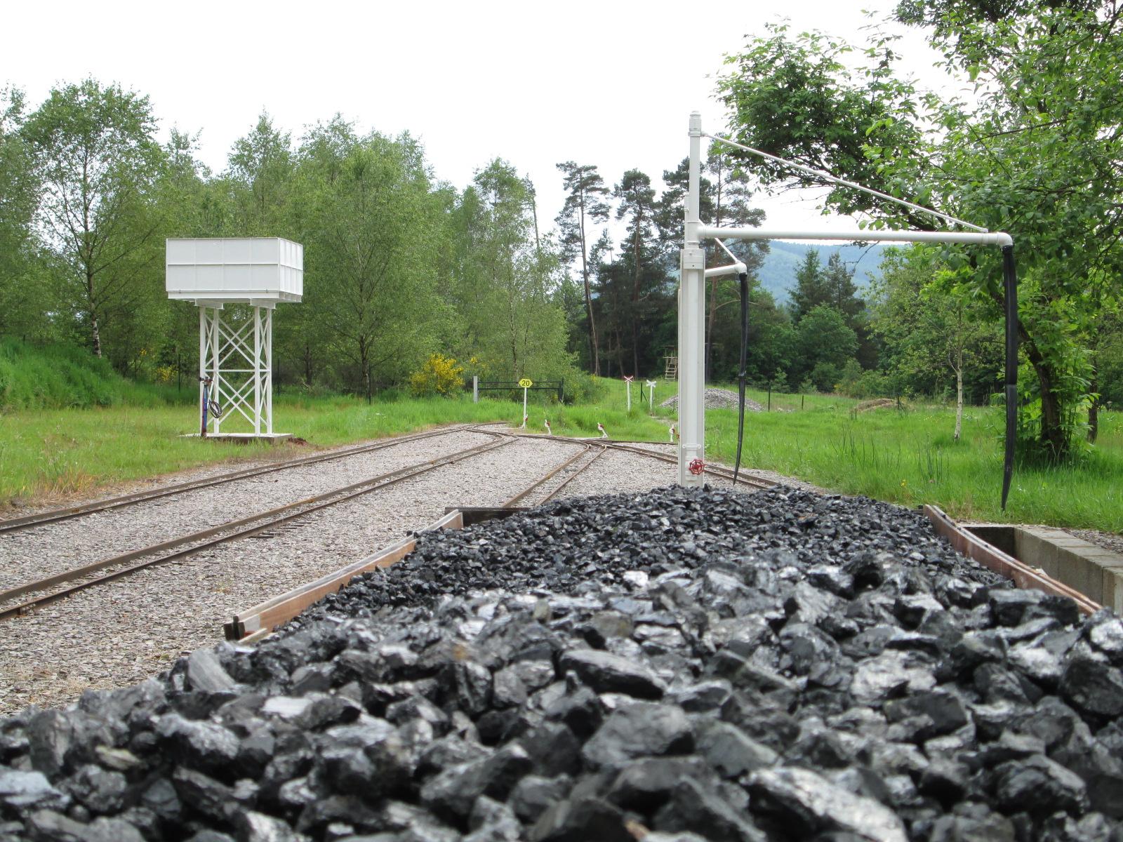 vue du quai à charbon